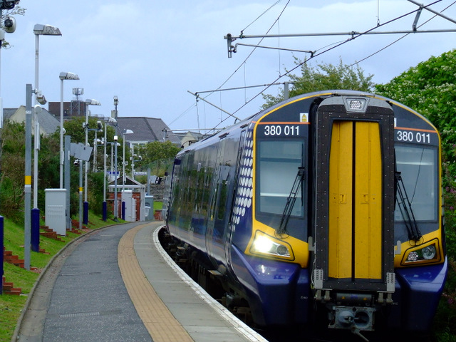 Train at Drumfrochar