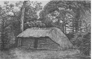 livingstones hut