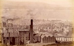 One of several sugar refineries in the area during the 19th Century