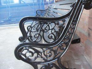 Bench restored