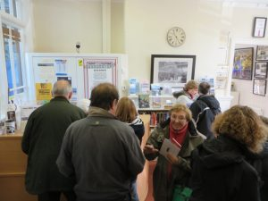 The bookshop did a roaring trade on 16th May as many people visited us in support of the anniversary.