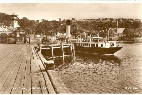 Wemyss Bay Pier:Steamers - P.S. Duchess of Fife