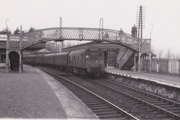 1965 Inverkip station